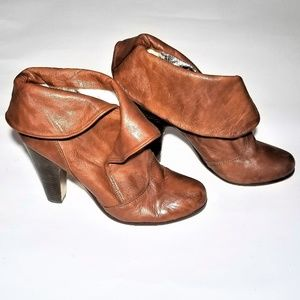 Dolce Vita Heeled Booties Leather - Size 10